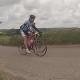 Jur in actie op de fiets op FLM