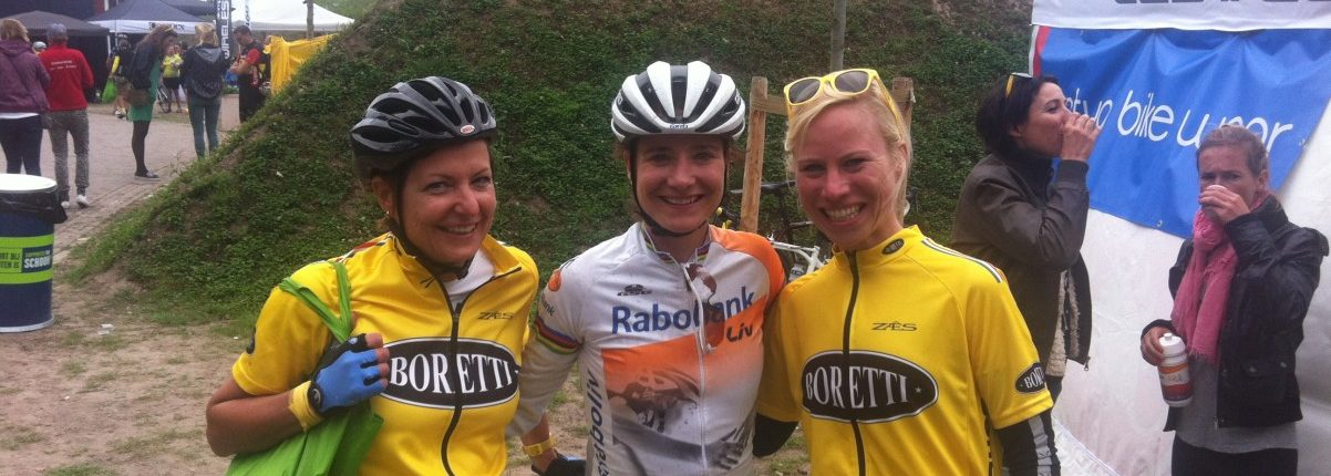 met Marianne Vos bij We Own Yellow