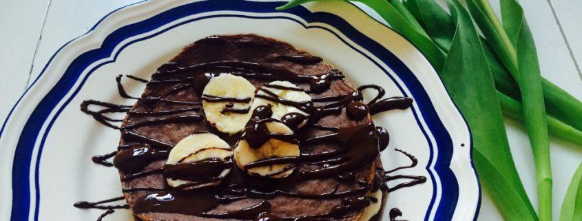 ontbijt pannenkoeken met eiwitpoeder recept