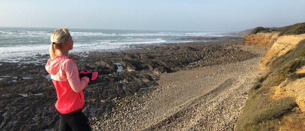 bucketlist hardlopen strand Frankrijk Vendee uitzicht mooi blog Nora