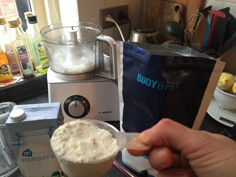proteine fluff recept Miles&More