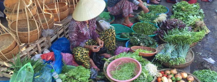 markt Hoi An Vietnam
