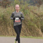 twiskemolenloop 2016 Nora eerste vrouw 16,1km