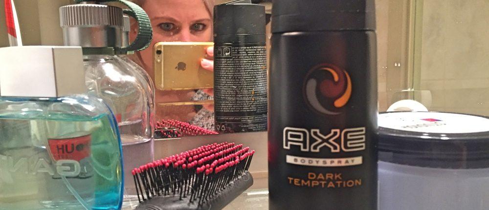 Ik gebruikte een week lang mannenproducten: Axe dark temptation