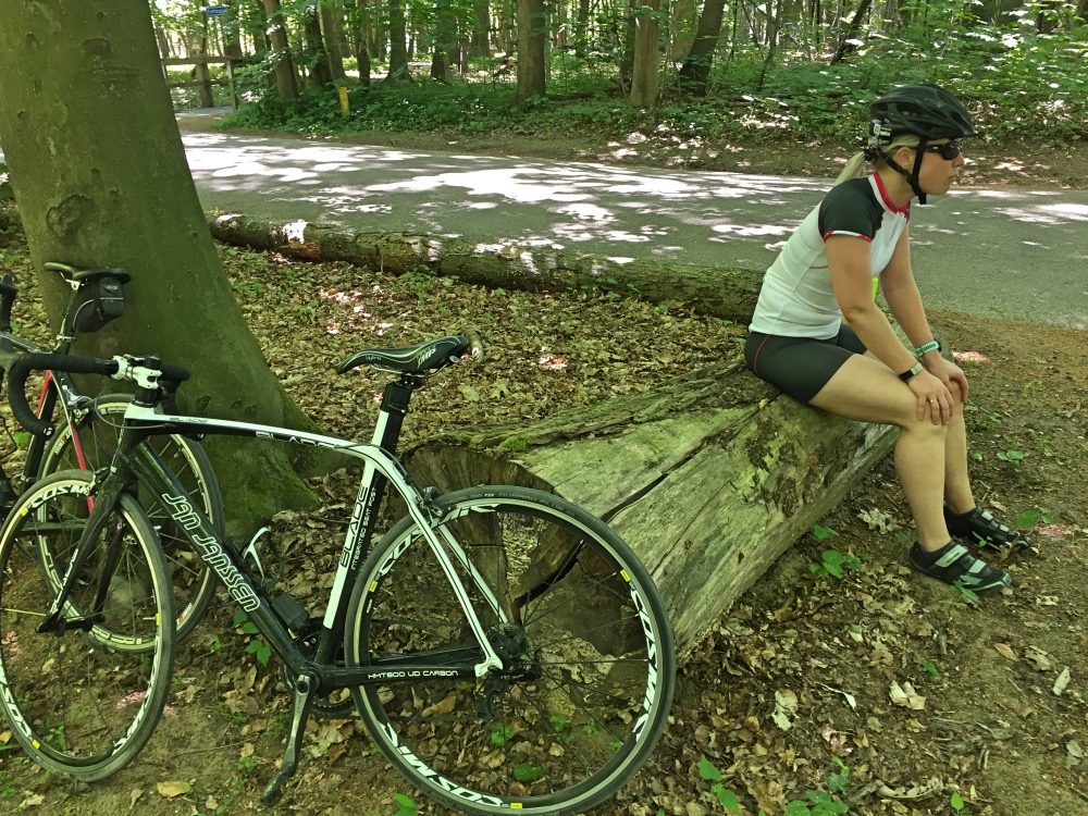 fietstochtje met Jur