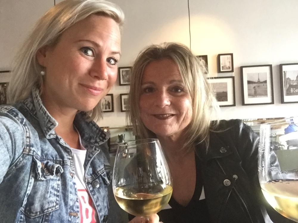 Met Branca bij Vity's bistrotbar