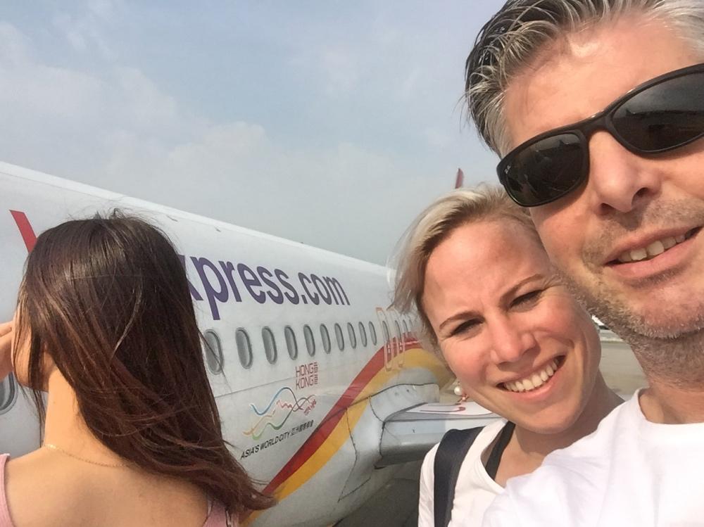 op weg naar Vietnam