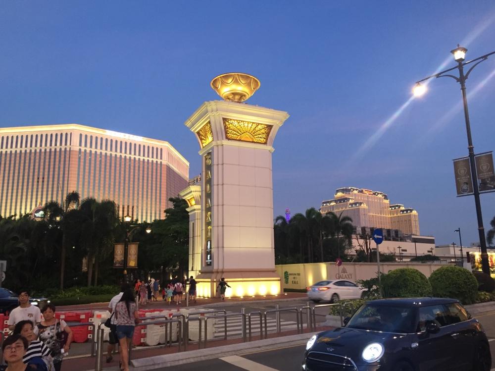 belachelijk grote casino's op Macau