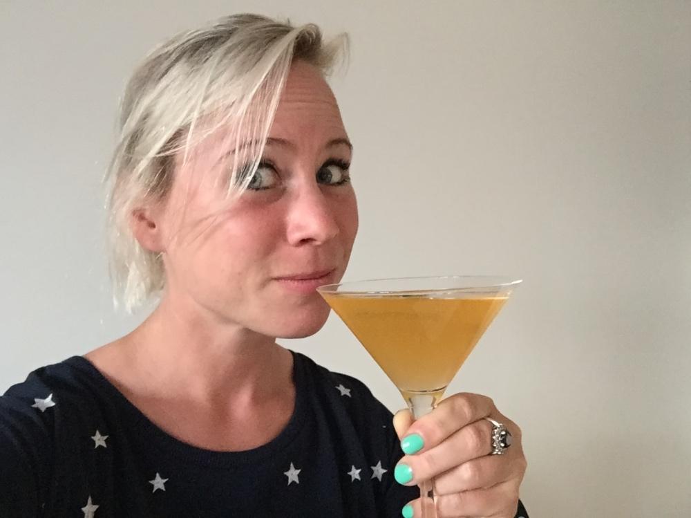 de cocktails waren AAN
