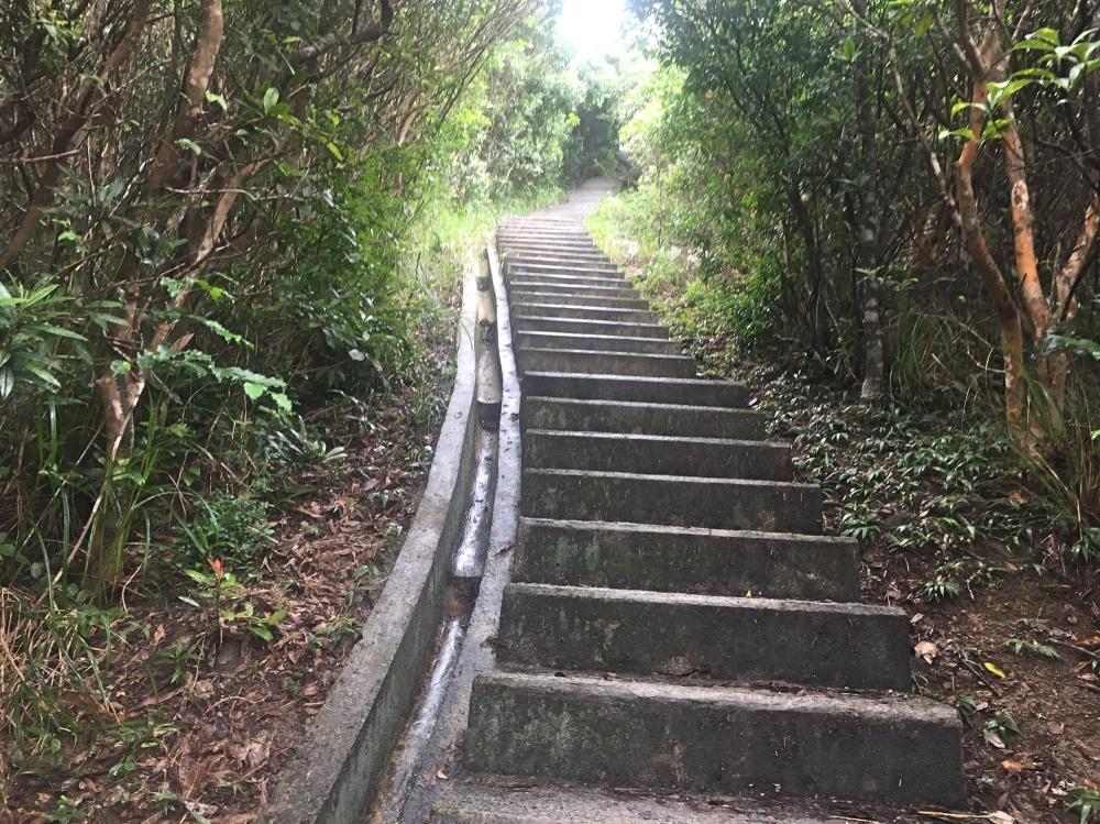 een trap met meer dan 1000 treden