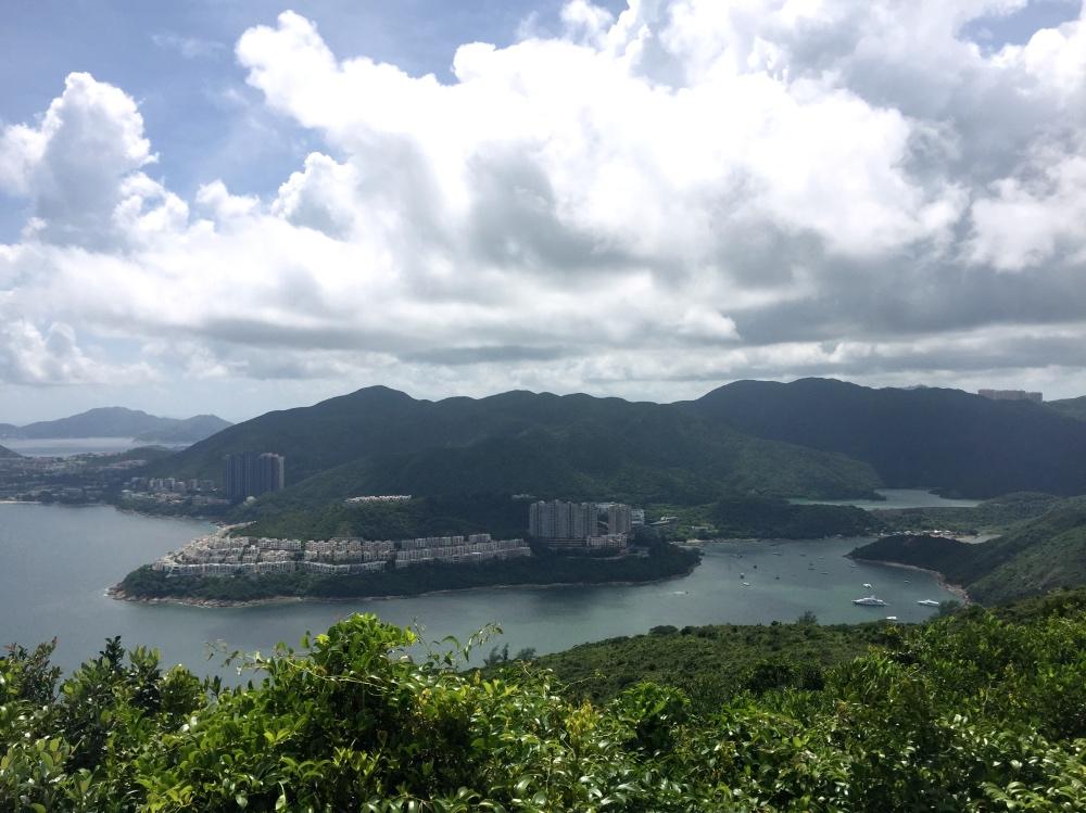 uitzicht vanaf de Dragon's Back Trail