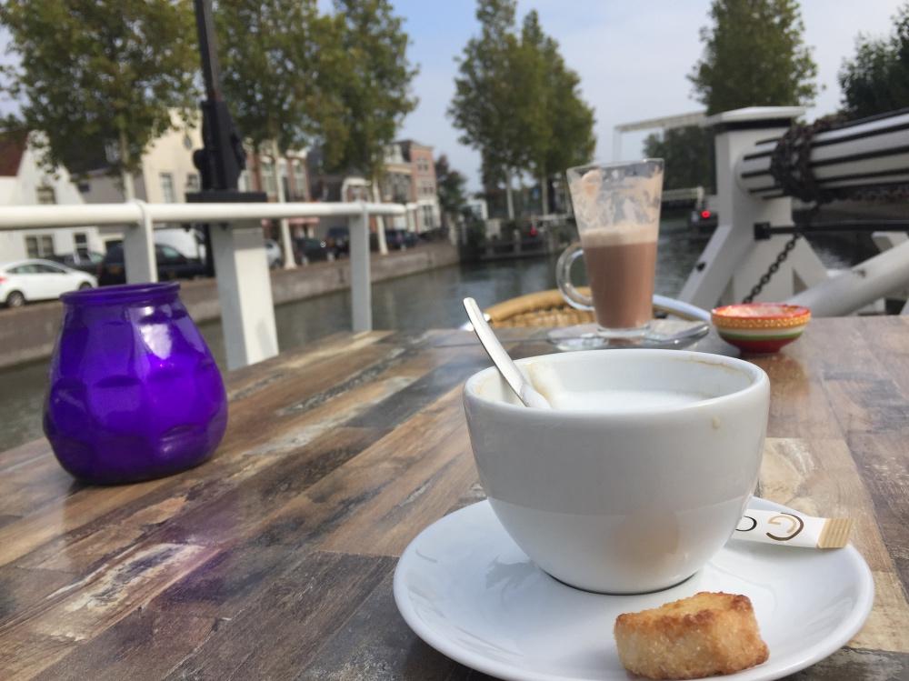 koffie een een interview