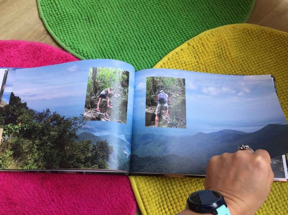 after-zomer dip vakantie fotoboek omslaan
