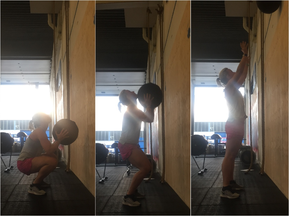 wallballs placement WOD