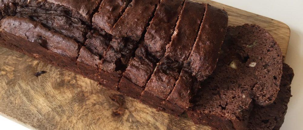 zwarte bonen brownie met veel eiwit recept