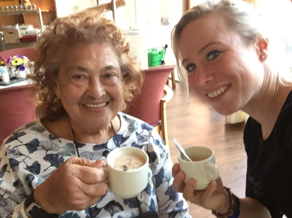 koffie met oma in Gouda
