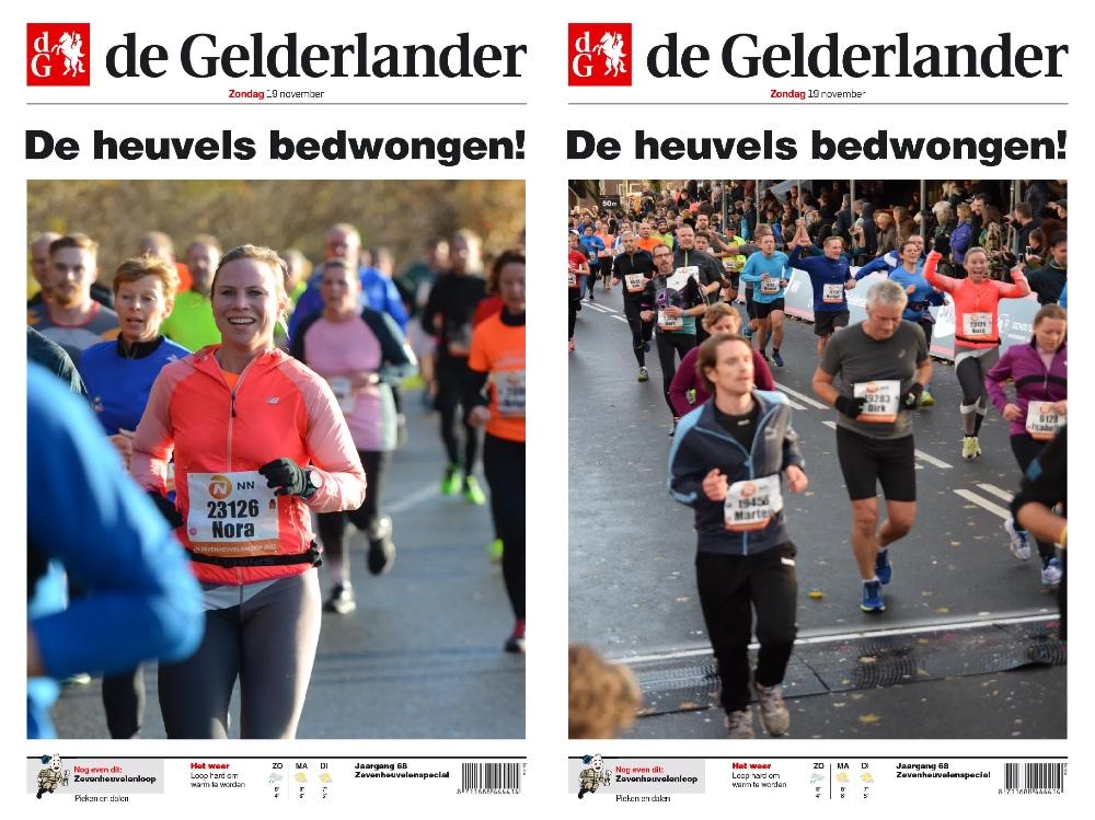 Zevenheuvelenloop foto's de Gelderlander