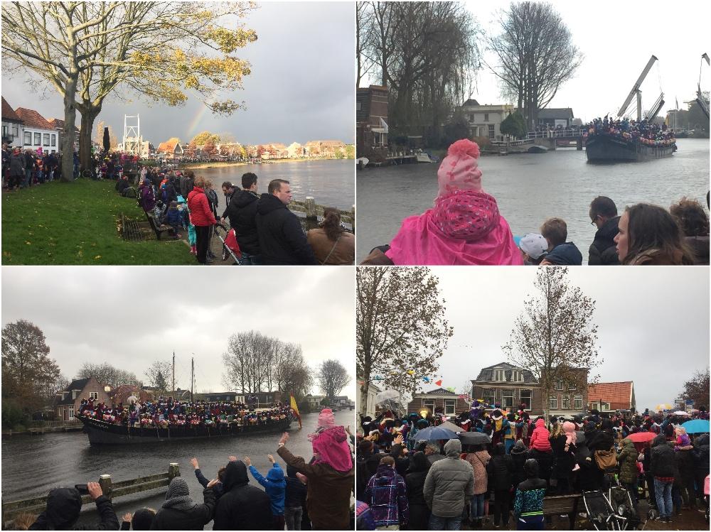 Sinterklaas in Weesp 2017