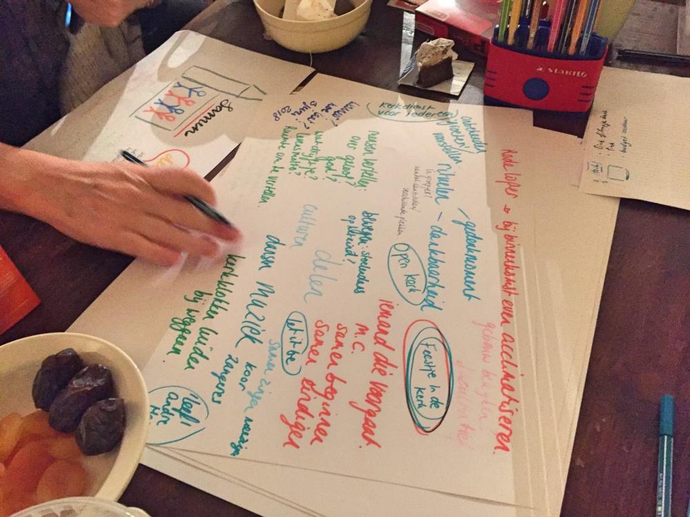 Brainstorm 'feestje in de kerk'