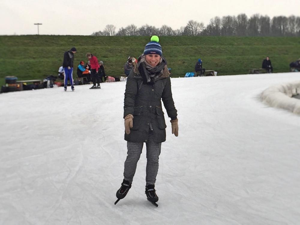 schaatsen bij Flevo on Ice