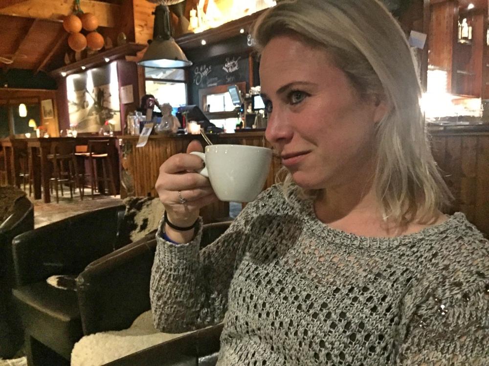 Koffie bij Paal 9 op Texel