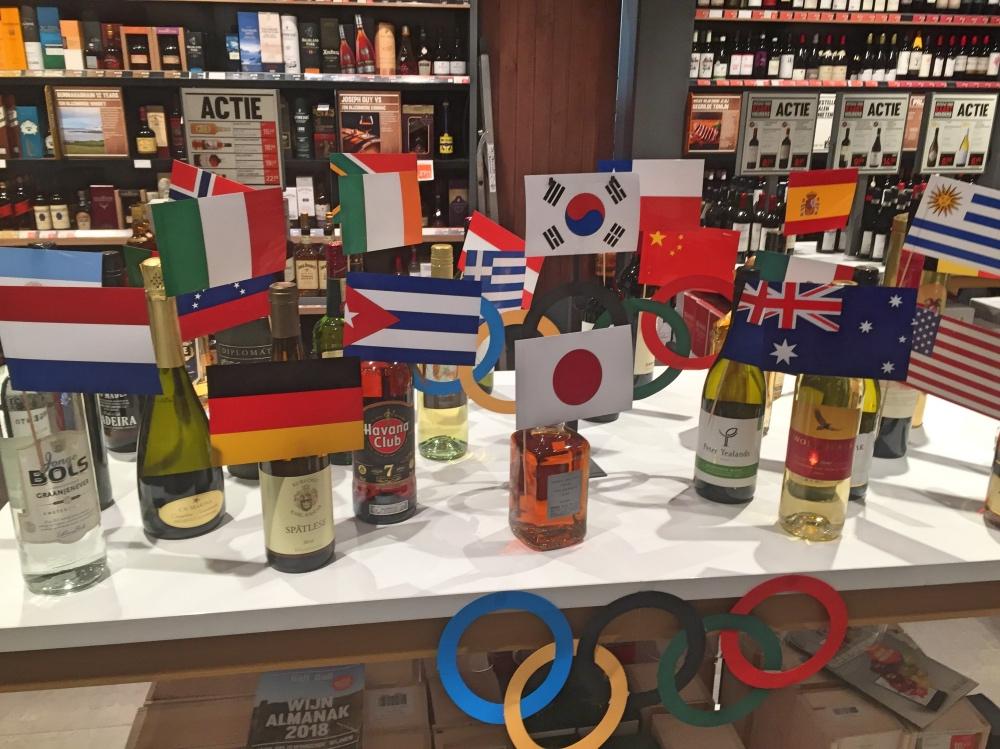 Olympische Spelen bij Gall&Gall