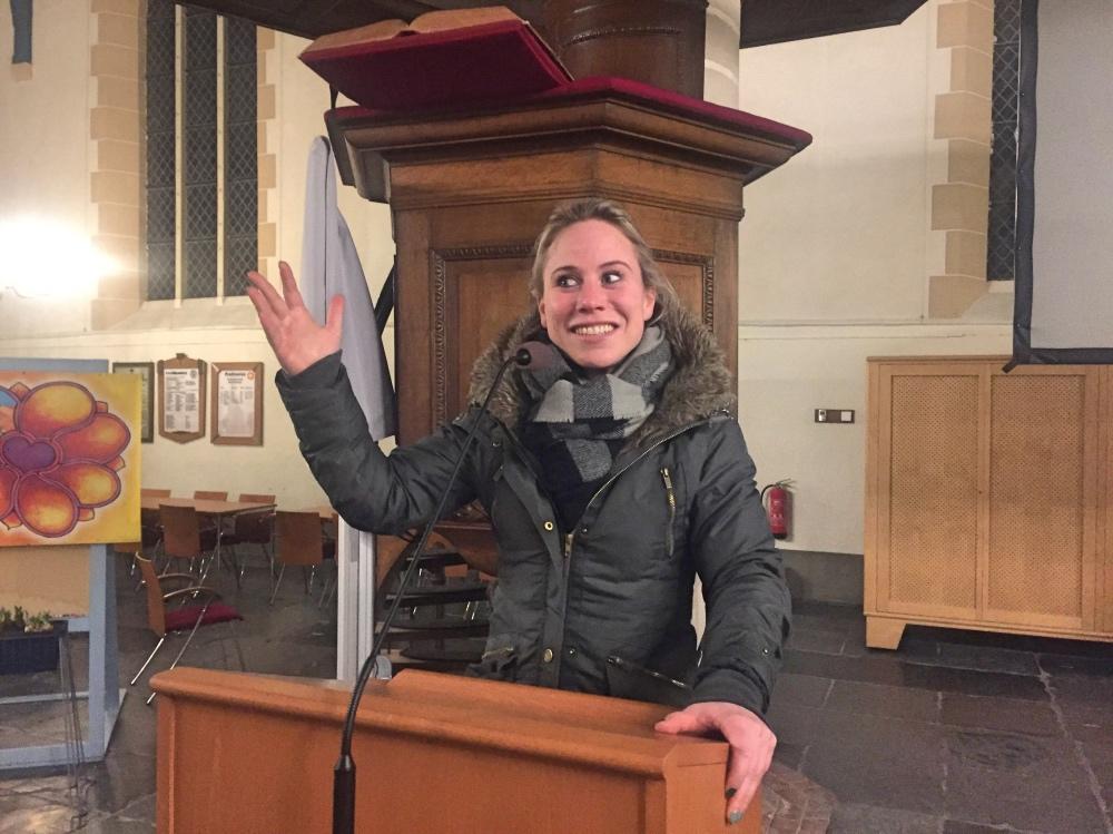 in de Grote kerk in Weesp