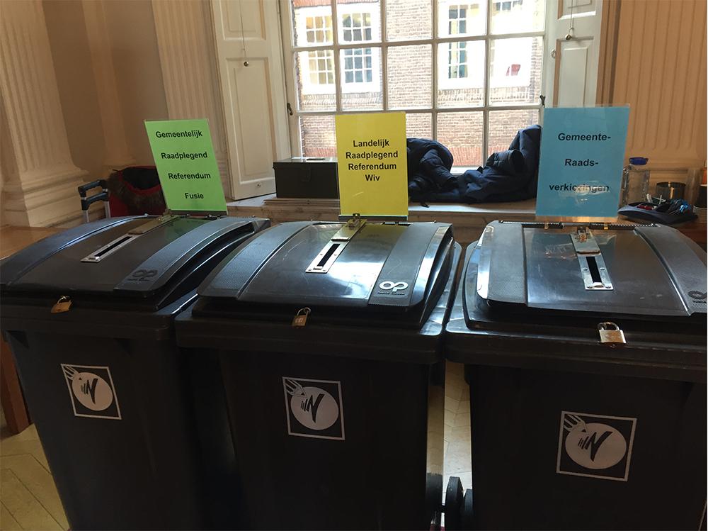 3 keer stemmen in weesp