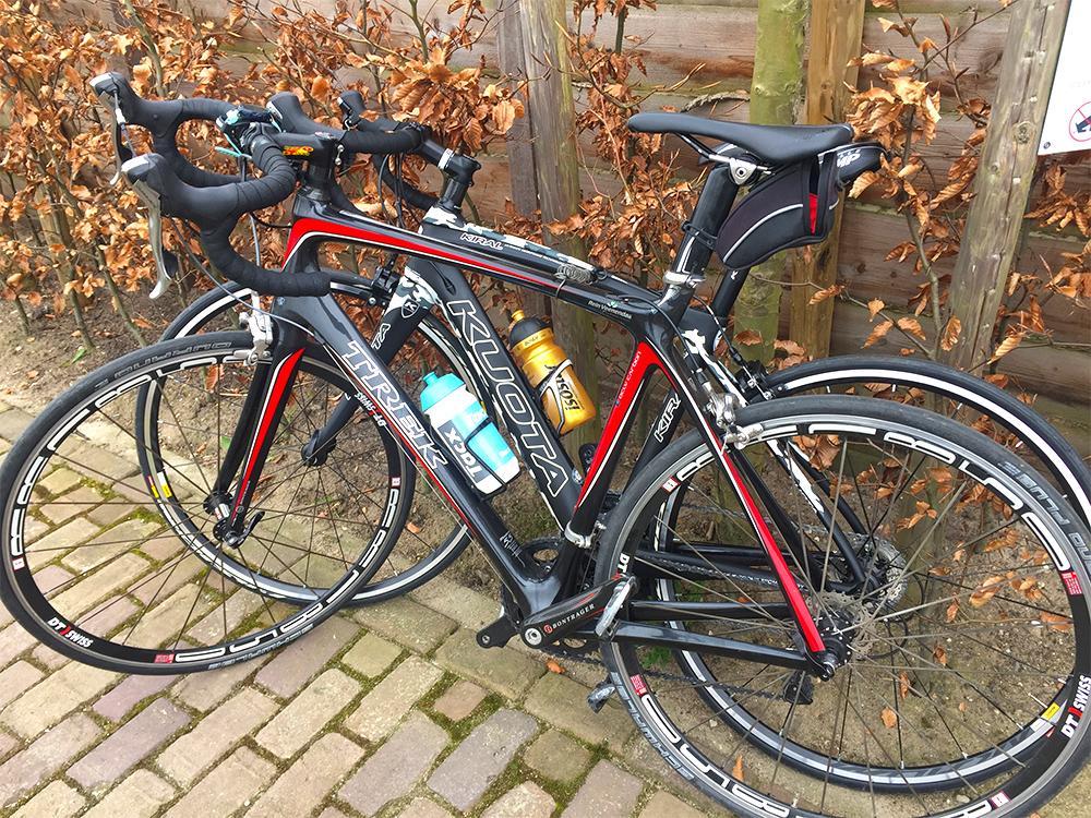 fietsen met Jur