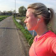 hardlopen in de zon