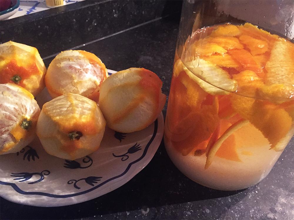 limoncello van sinaasappels