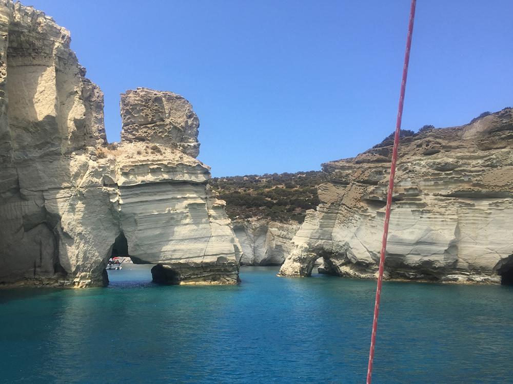 Kleftiko Milos Griekenland
