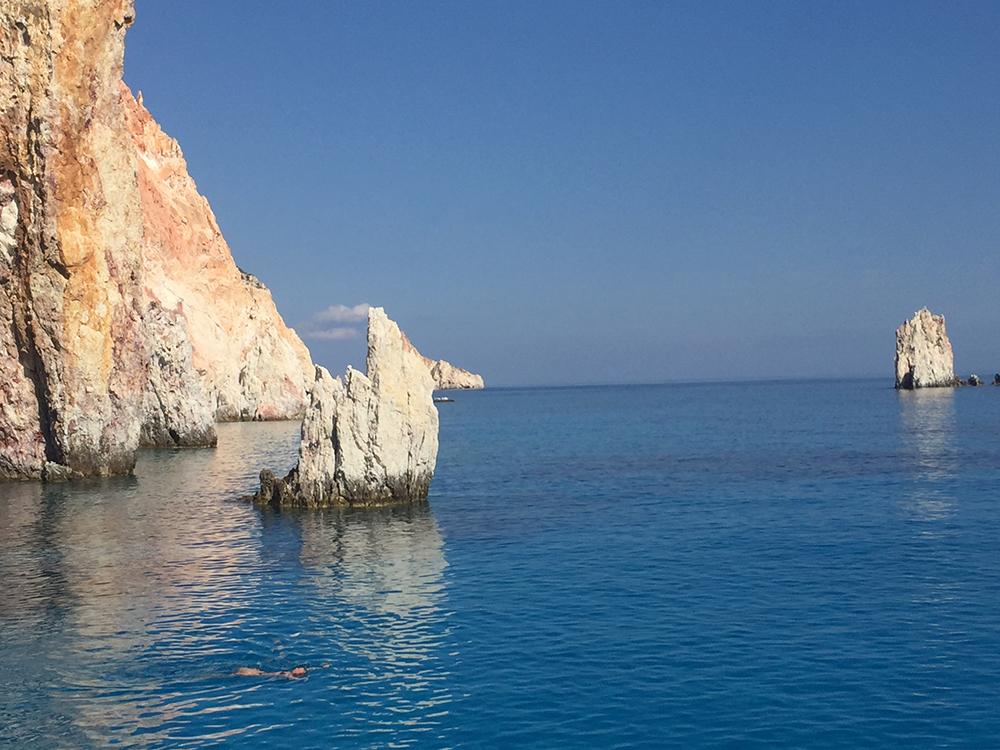 Kleftiko Milos Griekenland 1
