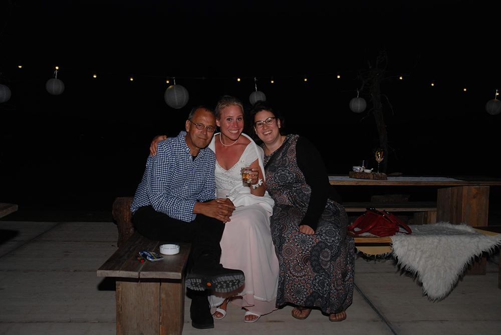 Beetje fris 's avonds, met pap en Lau