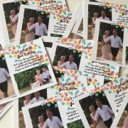 bedankkaarten bruiloft Noor en Jur Kaartje2Go