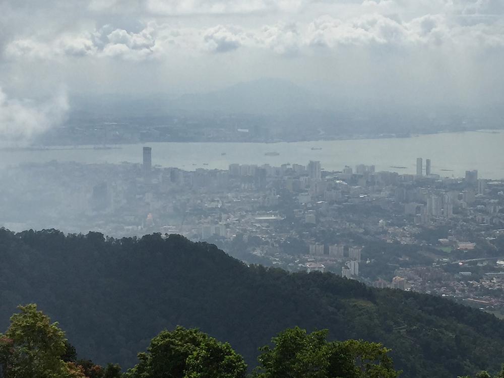 uitzicht Penang Hill
