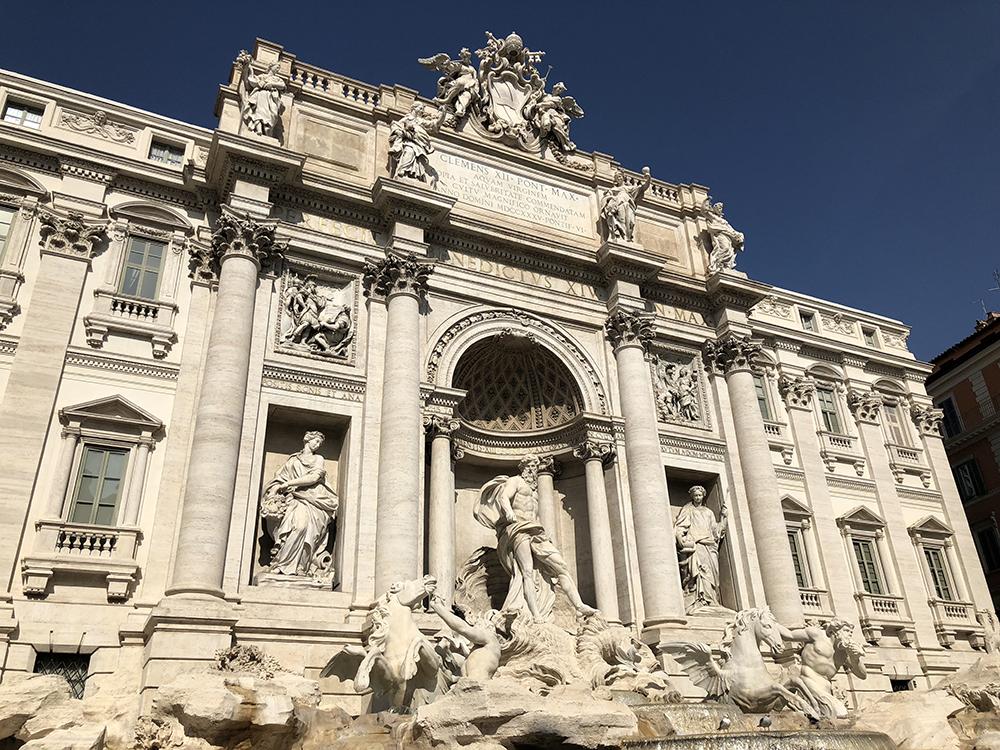 Trevi Fontein Rome, Italië