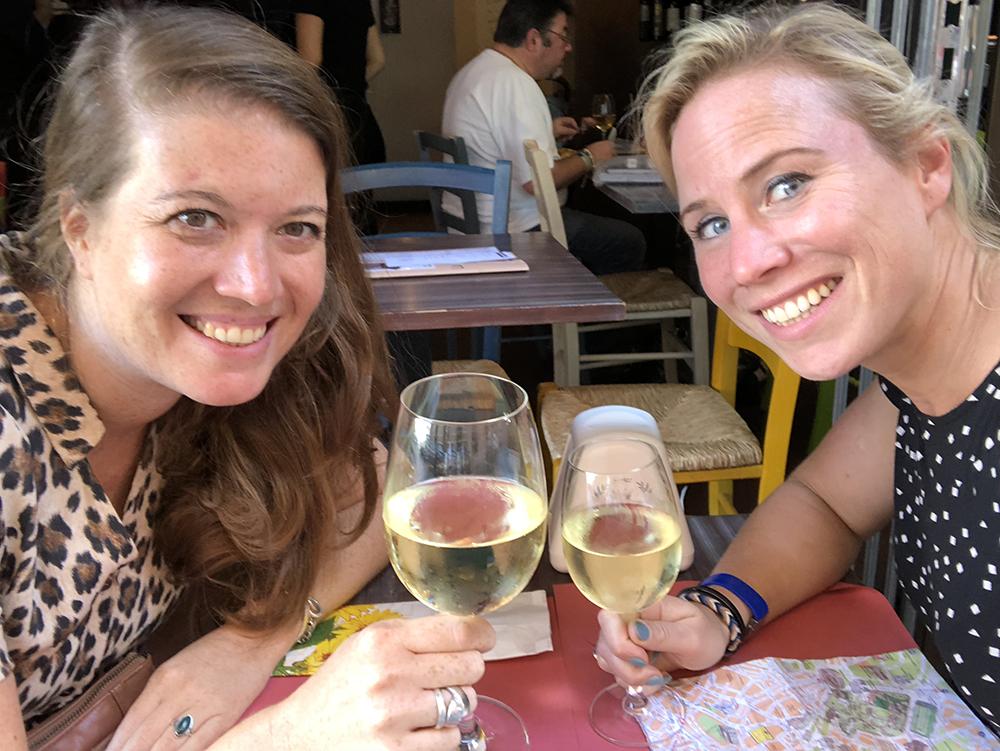 In Rome is het eigenlijk altijd tijd voor wijn