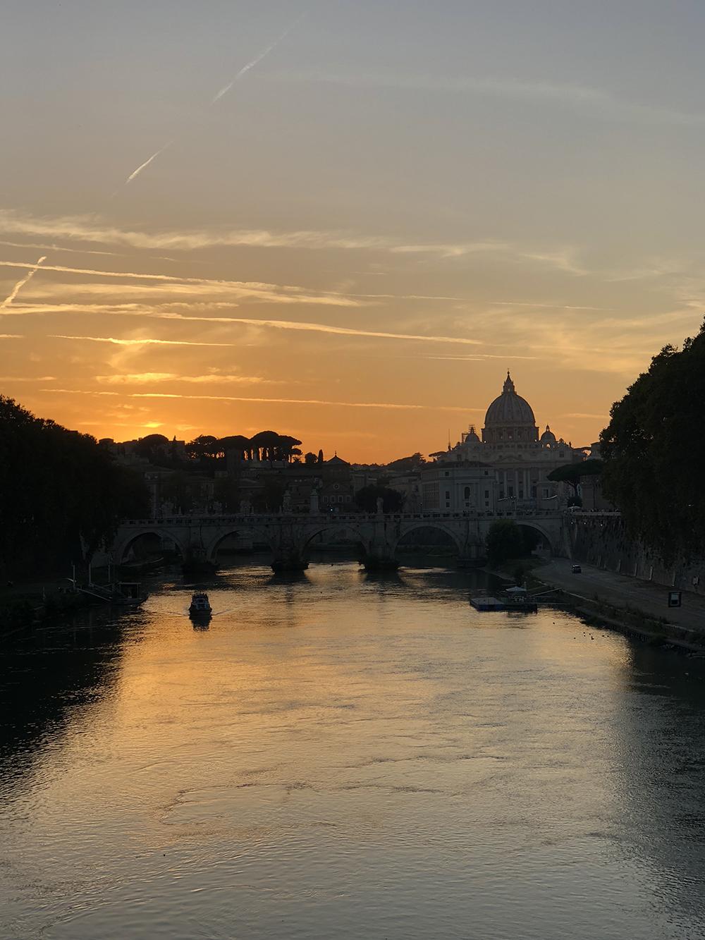 uitzicht over Tiber