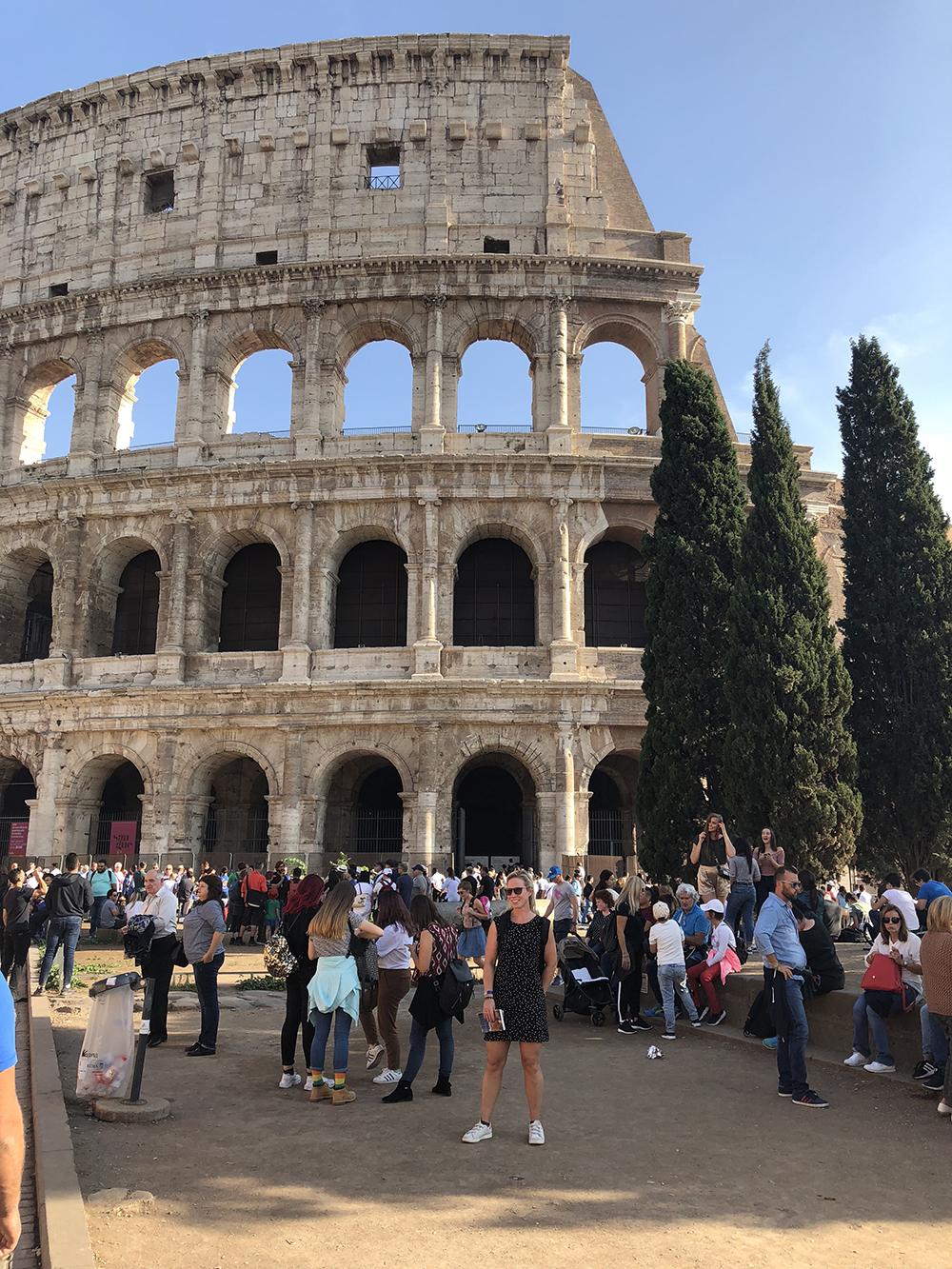 voor Colosseum, Rome