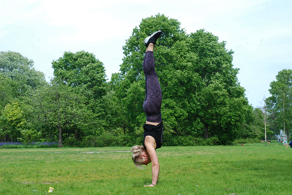 handstand fitnesskleding Fit&Style