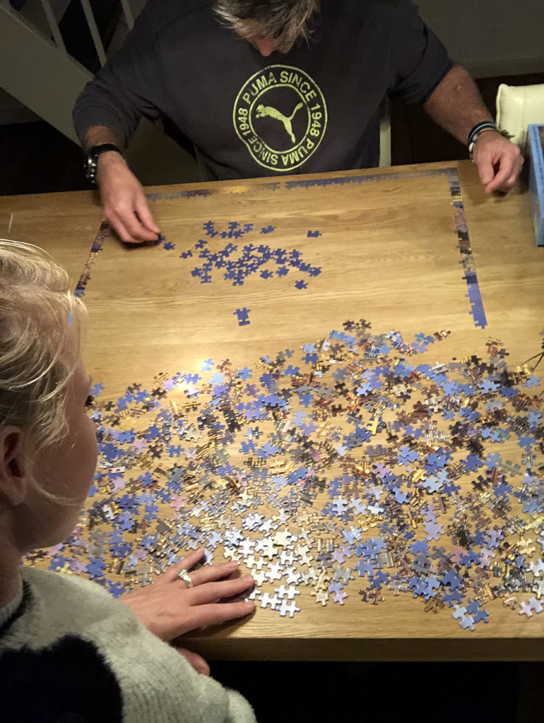 Puzzelen is best saai