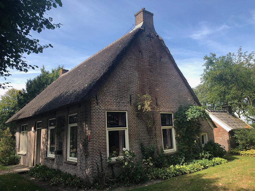 Oma's huisje in Westervelde. Drenthe