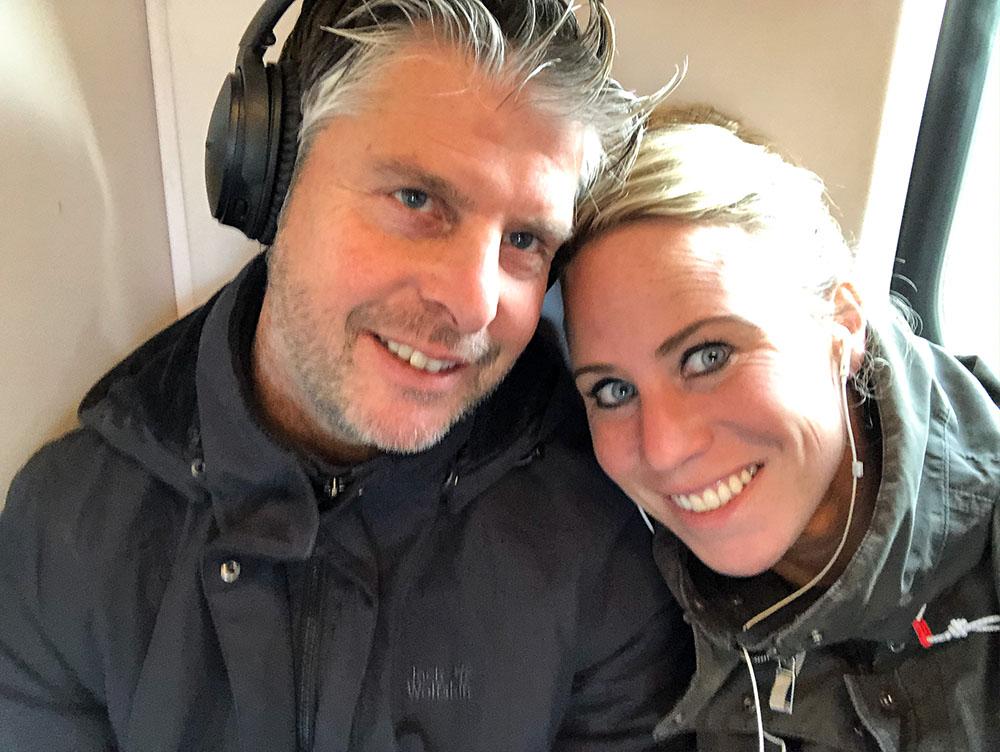 Samen in de trein naar de zevenheuvelenloop