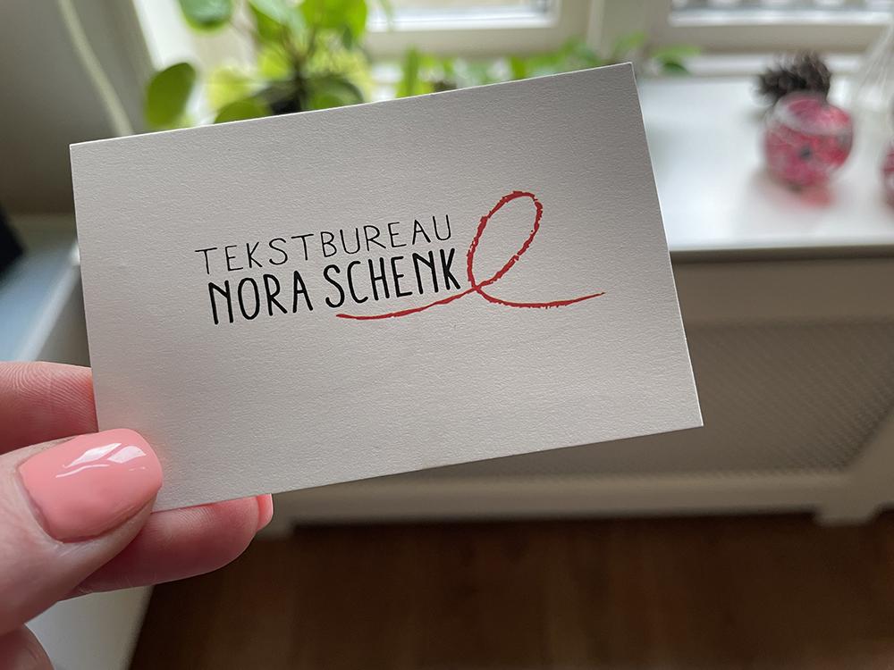 Visitekaartje Nora Schenk